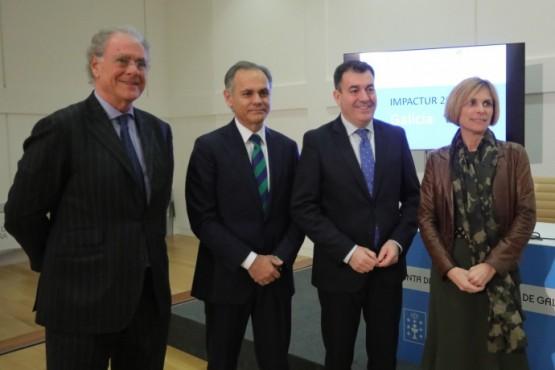 Exceltur revela a crecente contribución do turismo á economía galega ao xerar 6.341 millóns de euros