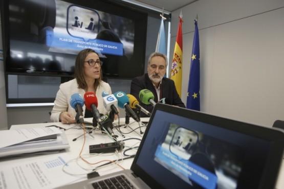 Ethel Vázquez salienta o esforzo da Xunta para que Pontevedra teña transporte público con 166 liñas de autobús