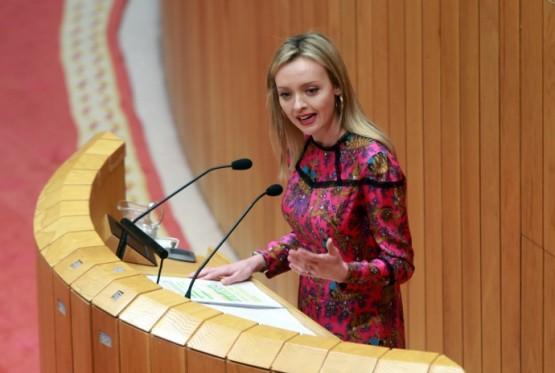 Fabiola García no Parlamento