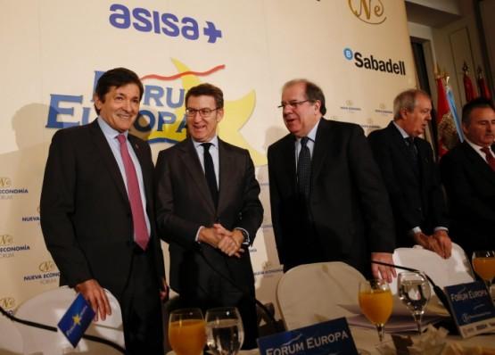 Feijóo defende reforzar o Corredor ferroviario ao Noroeste cos investimentos necesarios para unha España equilibrada