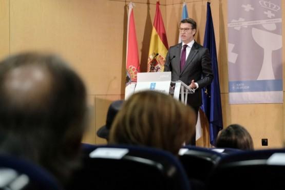 Feijóo avanza o inicio en verán das obras da nova estación de autobuses de Vigo
