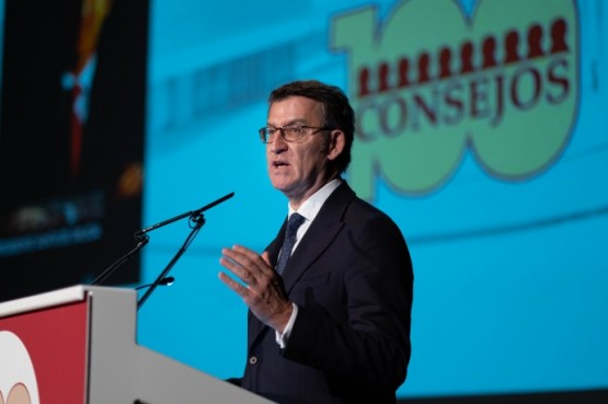 """Feijóo: """"o Goberno galego seguirá apostando pola estabilidade institucional que fai de Galicia unha das economías máis abertas de España"""""""