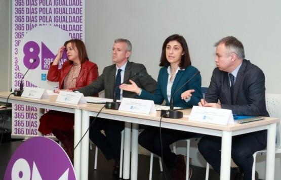 Vicepresidencia e Vivenda asinan un convenio para facilitar o acceso ao alugueiro das mulleres vítimas de violencia de xénero