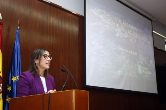 Ethel Vázquez na Coruña