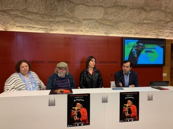 Os Monicreques de Kukas celebran os seus 40 anos en Santiago coa estrea de 'Arlequina' dentro da rede de teatros e auditorios
