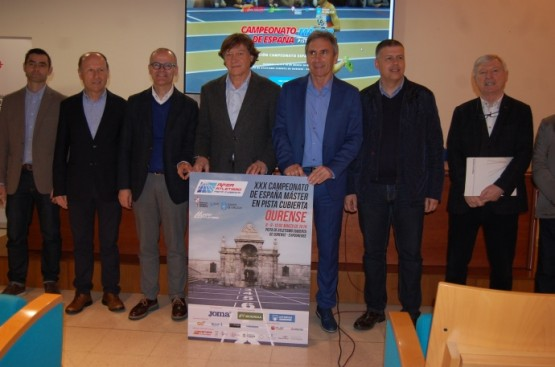 Un total de 1673 atletas participan esta fin de semana no máster do Campionato de España que se celebrará en Ourense