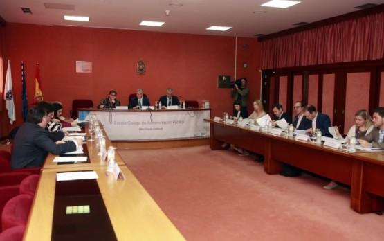 Alfonso Rueda na Comisión de espectáculos públicos