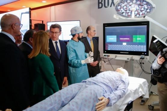 Feijóo salienta o traballo dos profesionais da xestión sanitaria para garantir unha sanidade pública galega innovadora e perdurable no tempo