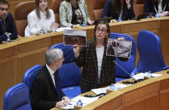 Intervención da conselleira Ethel Vázquez no Parlamento