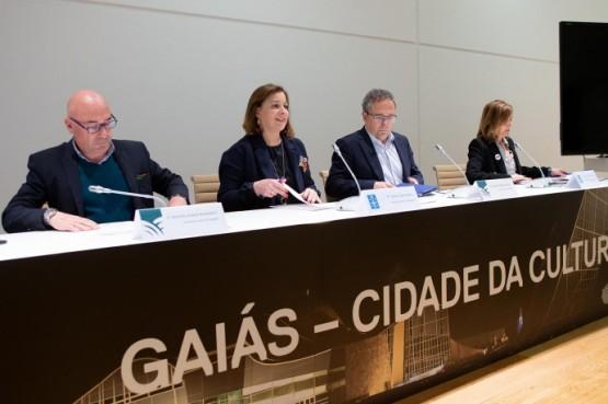 Susana López Abella na reunión cos Grupos de Desenvolvemento Rural (GDR)