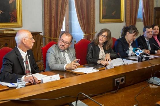 Carmen Pomar salienta a importancia do Premio Internacional Grupo Compostela-Xunta de Galicia para fortalecer o proxecto europeo