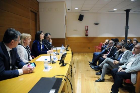 Ángeles Vázquez na reunión do Comité Directivo da CEO