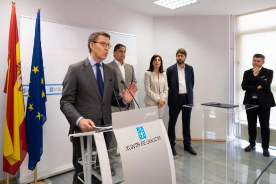 O presidente da Xunta en rolda de prensa