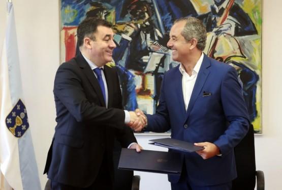 Galicia e Portugal selan un acordo para desenvolver proxectos conxuntos no eido audiovisual
