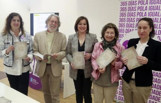Susana López Abella na presentación da guía