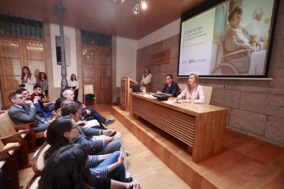 Fabiola García na presentación