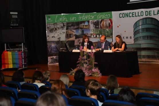 Susana López Abella na inauguración do curso