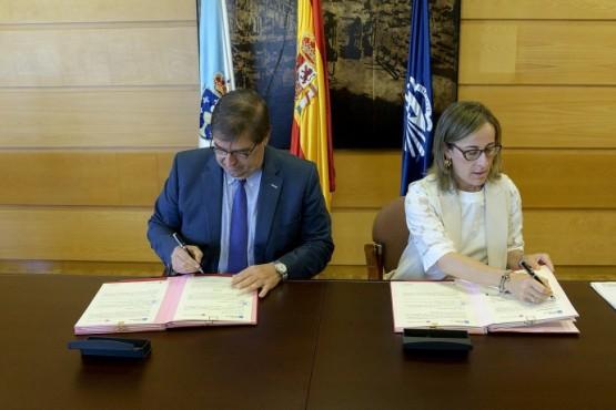 Xunta e UDC colaboran para impulsar un novo modelo de saneamento de auga no rural máis eficiente, sostible e integrado no territorio