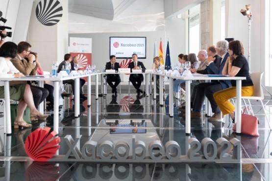 Reunión da Comisión Organizadora do Xacobeo 2021