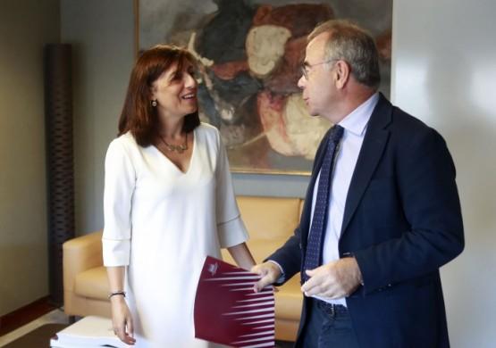 Xunta e Concello de Santiago crearán antes de final de mes unha comisión técnica para impulsar o polígono da Sionlla