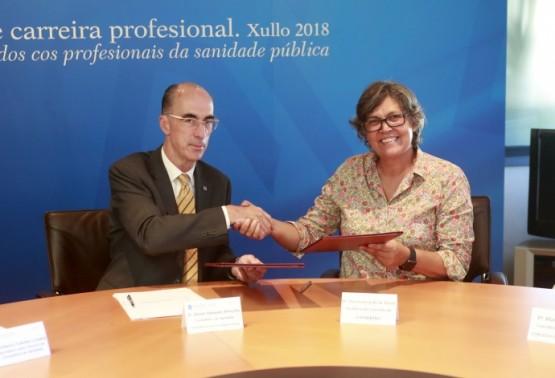Sergas e concello do Porriño asinan un convenio de cooperación para a ampliación do centro de saúde
