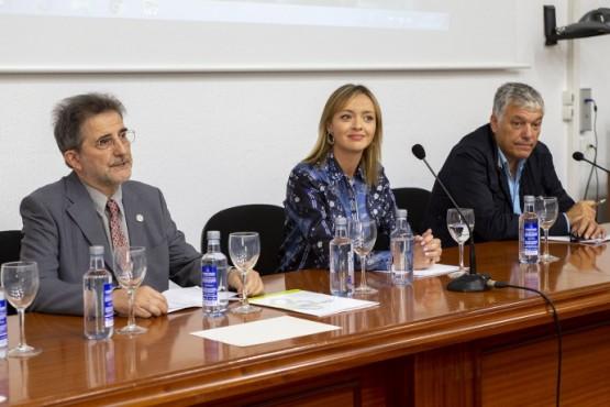 A conselleira Fabiola García no Congreso Internacional de Psicoxeriatría