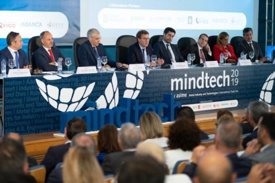 O presidente galego no acto inaugural de Mindtech 2019