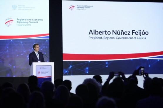 Intervención do presidente galego no cumio en Varsovia