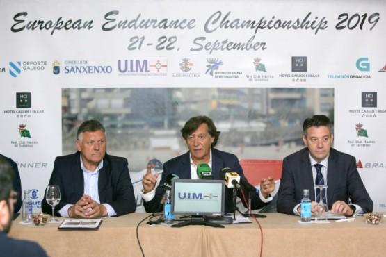 """Lete Lasa presenta o Campionato de Europa de Endurance que xuntará en Sanxenxo """"ás lanchas máis rápidas do continente"""""""