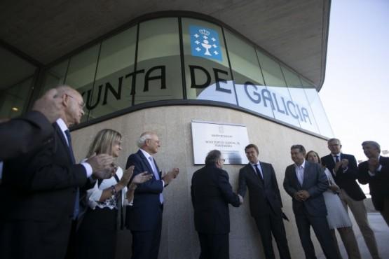O novo edificio xudicial da Parda dota a Pontevedra de 23.000 m² máis para un mellor servizo e que beneficiará a todo o partido xudicial