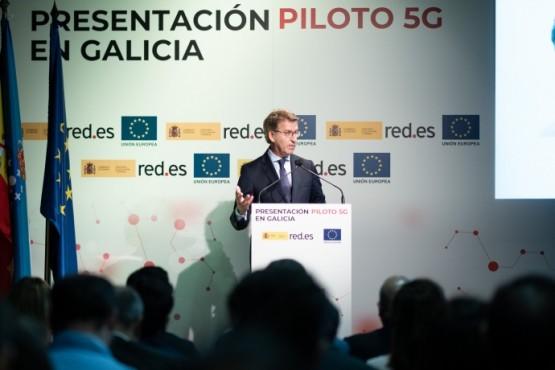 Galicia desenvolverá 17 proxectos piloto que permitirán dispoñer dos servizos avanzados do 5G en sanidade, loita contra incendios e industria
