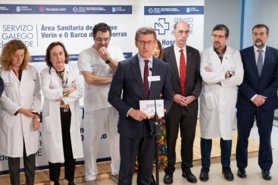Amplíase o horario de hemodinámica no hospital público de Ourense ás 24 horas do día e os 365 días do ano