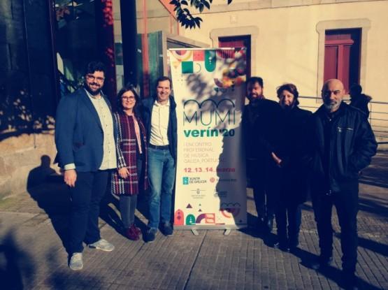 A Xunta impulsa a primeira feira profesional de música entre Galicia e Portugal MUMI como parte de 'O teu Xacobeo'