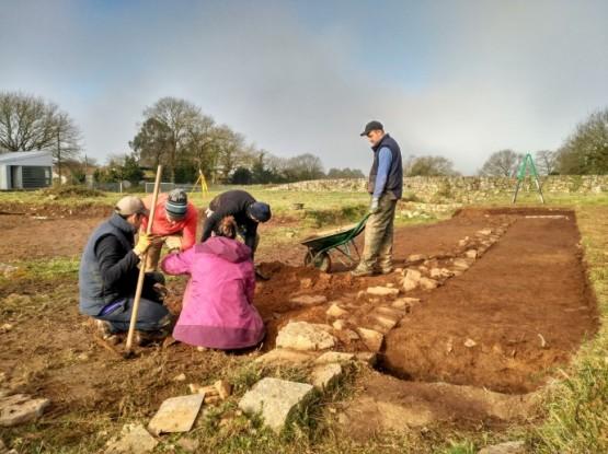 Xunta e UVigo comenzan a intervención arqueolóxica no campamento romano da Ciadella