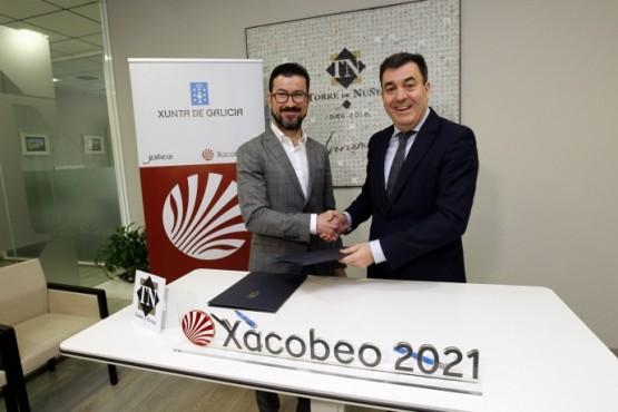 O Xacobeo 2021 suma un novo apoio en Lugo con Torre de Núñez, que aportará 200.000 euros para o impulso do Ano Santo