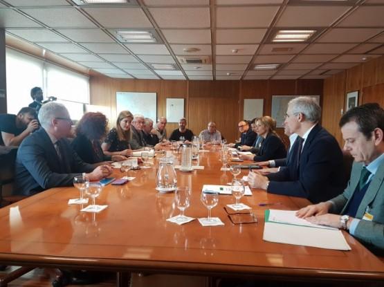 Reunión da mesa de traballo para a transición enerxética