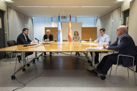 Reunión para o Plan de Reactivación Asistencial en Atención Primaria