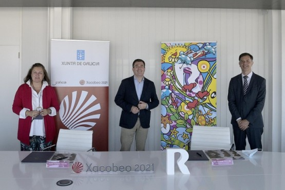 A Xunta suma un novo apoio ao Xacobeo 2021 tras asinar un acordo de patrocinio con R