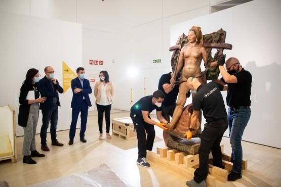 A Cidade da Cultura devolve as 300 pezas da exposición 'Galicia, un relato no mundo' a entidades prestadoras de oito países