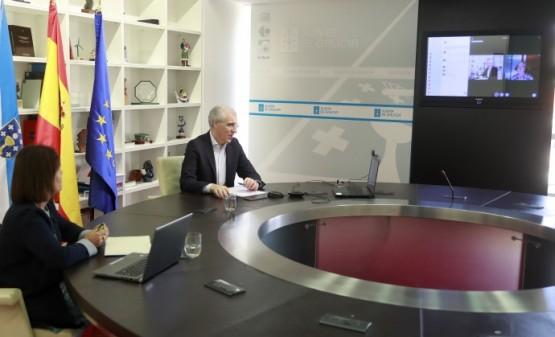 A Xunta destaca que a decisión de Boeing de instalar un laboratorio de simulación de continxencias en voo contribúe a facer do Polo Aeroespacial de Galicia un referente internacional