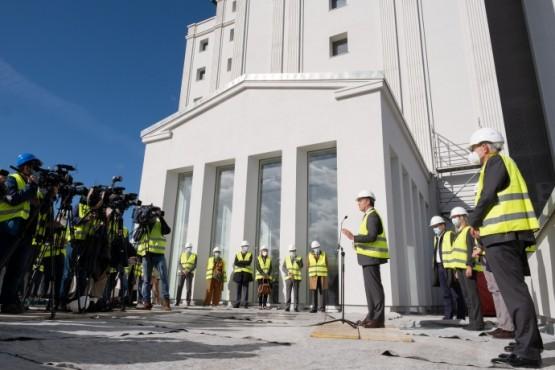 """Feijóo salienta os avances na construción da Cidade da Xustiza de Vigo, """"a obra xudicial máis importante da historia da comunidade"""""""