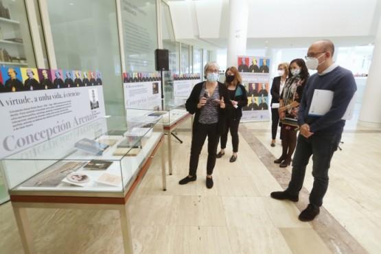 A Xunta rende homenaxe a Concepción Arenal no seu bicentenario cunha mostra que reúne algunha das súas primeiras composicións