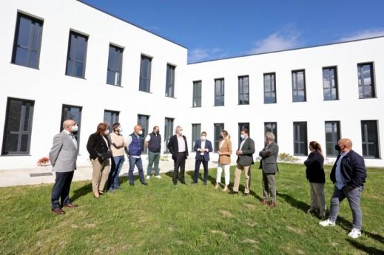 A Xunta licitará este mes o equipamento da residencia de maiores de Cerdedo, en cuxa ampliación investiu máis de 2 millóns de euros
