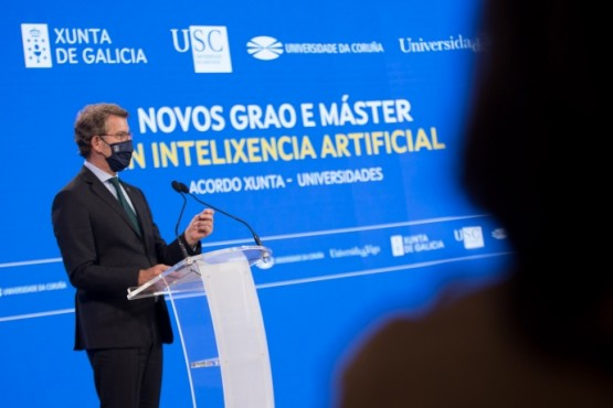 Asínase o acordo para impartir na Comunidade os títulos interuniversitarios de Grao e Máster en Intelixencia Artificial