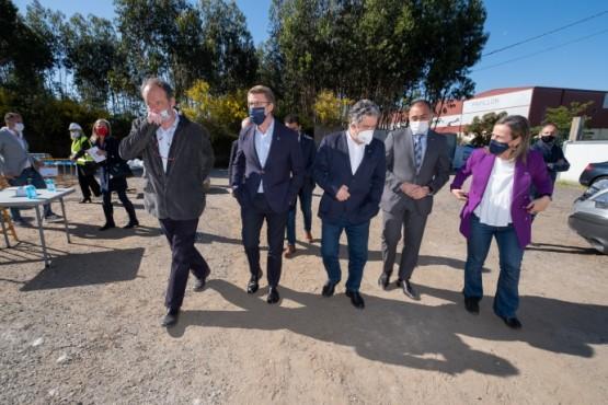A Xunta inicia as obras do Hospital Público Gran Montecelo co obxectivo de que estean rematadas entre finais de 2023 e principios de 2024, un ano antes do previsto