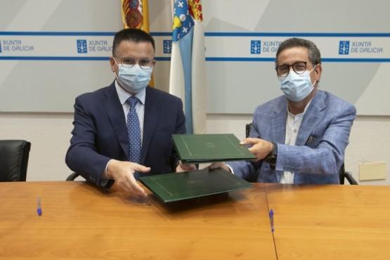 Xunta e Oviganic Ibérica impulsan o sector ovino e cabrún en Galicia